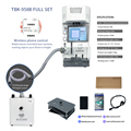 2020 Newest TBK-958B Laser Marking Separate Machine for IPhone 8-11 Pro Max Back Glass Remover Repair Machine Control By Phone
