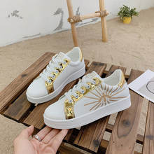 Белые туфли для девочек 2020 популярные новые красные тонкие