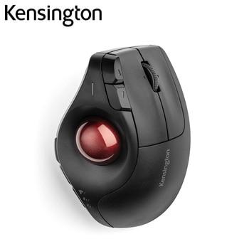 Kensington Original Pro Fit Ergo Vertical Wireless Trackball Mouse 2.4GHz/Bluetooth*2 Customized Buttons K75370/K75326