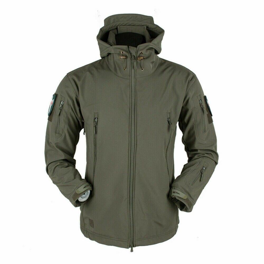 Softshell Jacket Men Quality Fashion Jackets Autumn Winter Coat Men Casual Fleece Coats Men Outwear Jackets Breathable Jackets