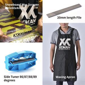 Image 3 - XCMAN 스키 스노우 보드 완벽한 왁싱 및 튜닝 키트 Travling 및 Storge 도구 용 Storge Bag 왁싱 다리가있는 지퍼가 달린 주머니