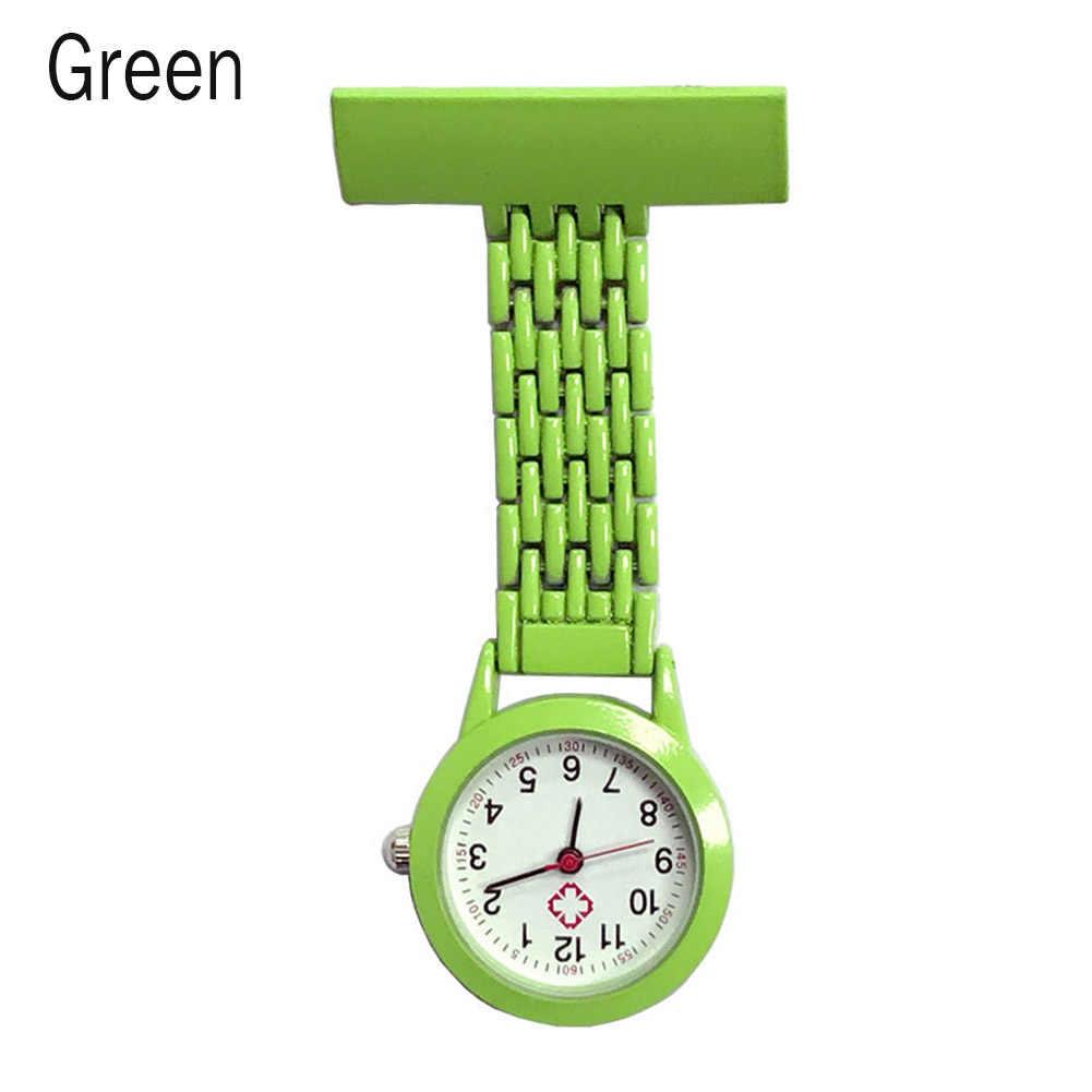 אחות קוורץ שעון סיכת כיס סיכת קליפ רפואי אחות כיס שעון סיעוד PR מכירה