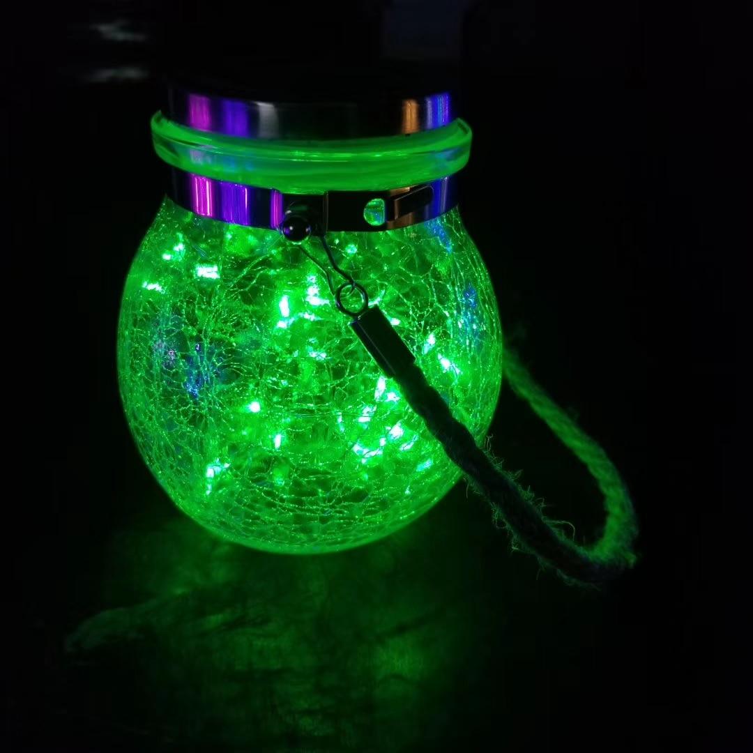jar luzes para pátio ao ar livre