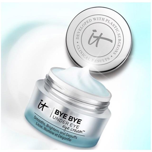Eye Cream It Cosmetics BYE BYE UNDER eyes Moisturizing Makeup Base Cream Eyes Make Up Skin Brighten Eye Concealer 4