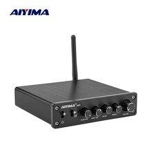 AIYIMA Amplificador de Subwoofer TPA3116, Bluetooth, HiFi, TPA3116D2, 2,1 canales, amplificador de Audio Digital, 50W * 2 + 100W DC12 24V