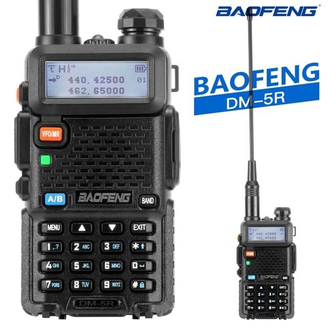 Baofeng DM 5R Tier1 Tier2 Digitale Walkie Talkie DMR Dual Band DM 5R Dual Zeit Slot Zwei Weg Radio DM5R Radio communicador