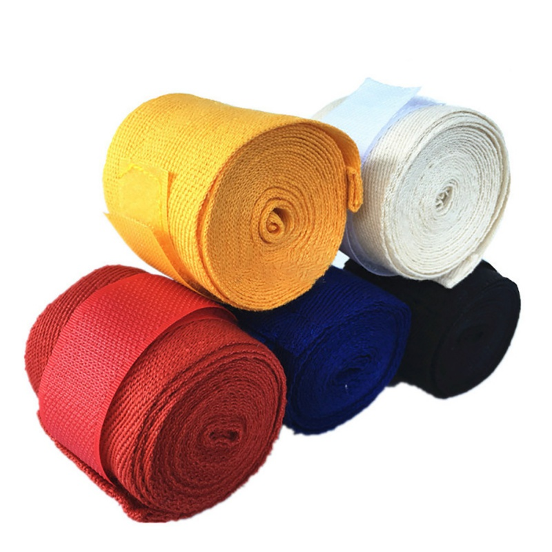 1 Roll 2.5M High Quality Soft Breathable Boxing Bandage Practical Sanda Fighting Bandage Hand Strap 5cm Width Protective Wrap