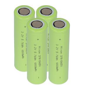 Image 3 - 4個1800 2600mah IFR18650 LiFePO4 3.2v充電式バッテリーと国連ウントul認証