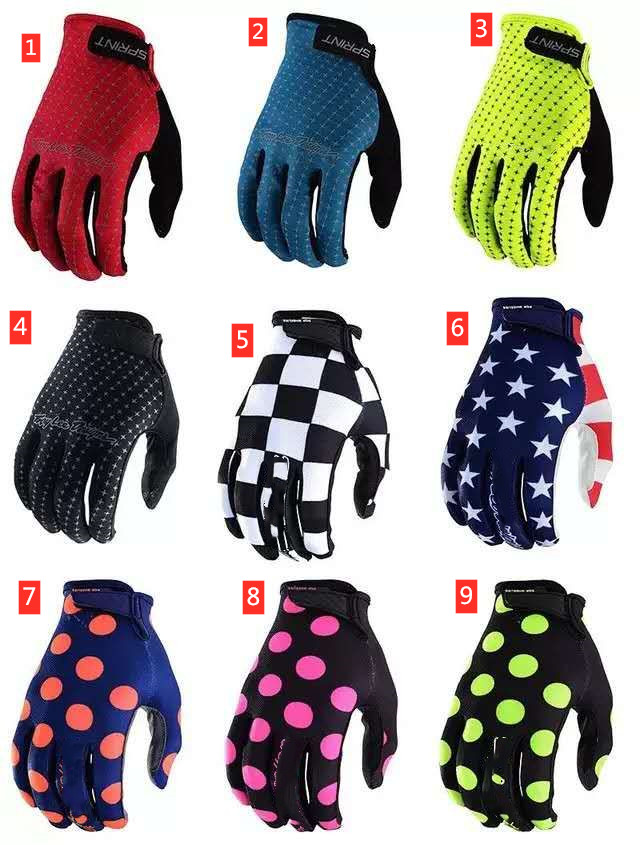 ZEVER TLD Good Quality Cycling Gloves 9 Colour MV GP Women And Man Gloves S-xxl Size