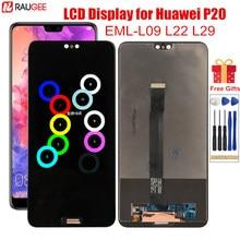 LCD Display für Huawei P20 EML-L09 L22 L29 LCD Display Digitizer Montage Touchscreen Ersatz für Huawei P 20 Bildschirm 5.8''
