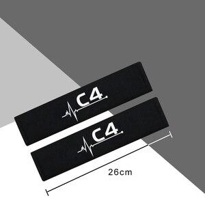 Image 3 - Protection pour voiture, épaules, étui pour citroën C4, accessoires