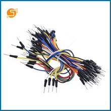 С 65шт робот прыгать жильный кабель мужчины к перемычку для Arduino макет ЕК9