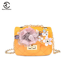 RARE CREATIVE Flower Designer Women Small Purses PU Leather Fashion Shoulder Bags Famous Brand Crossbody For PS8008