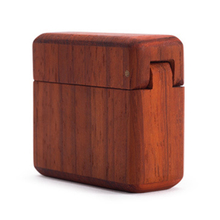 Gifts Engagement Jewelry Case Container Mini Handcraft Ring Box Wedding Propose Storage For Couples Display Holder Wooden Retro