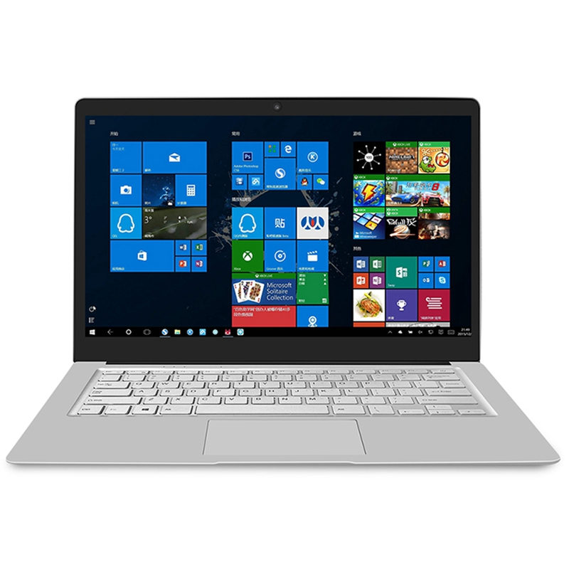 Jumper Ezbook S4 Laptop 14 Inch Fhd Bezel-Less Ips Screen Slim Ultrabook 8Gb Ram 256Gb Rom Intel Celeron J3160 Dual Band Wifi No