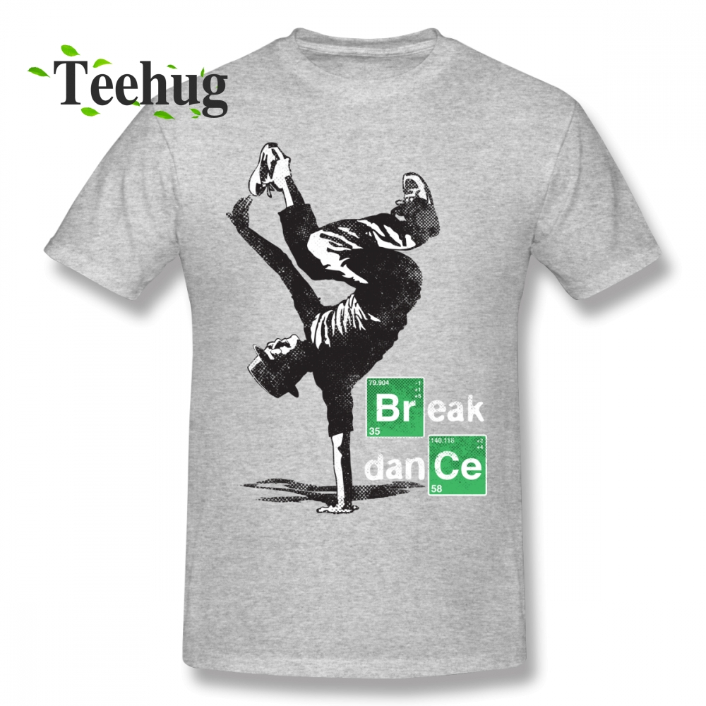 Organnic Cotton Break Dance T Shirt For Men Crazy Custom Man Pure Camiseta
