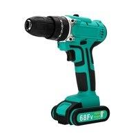 68V 10mm Cordless Drill Driver Screwdriver LED 2 Speed 1X 7500MAh Li Ion Battery|Electric Drills| |  -