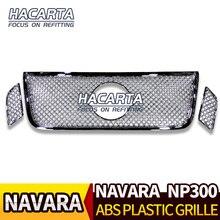 עבור NAVARA NP300 D23 2015 2019 מודלים גריל כרום גריל TRIM אבזרים