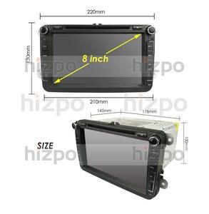 Image 4 - 8 inch Android 10 RAM 4GB ROM 64GB Auto Multimedia Player Player für VW Golf 5 Caddy Passa b6 Sitz Leon GPS WIFI Auto DVD