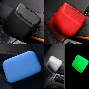 Silicone Car Seat Belt Buckle Covers Clip Anti-Scratch Cover Auto Safety Button Interior Accessories Car-Styling Universal universal auto car seat cover auto front rear chair covers seat cushion protector car interior accessories 3 colors