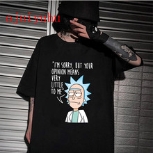 2021 Rick Morty Funny Cartoon T Shirt Women Harajuku Ricky N Morty Ullzang T-shirt 90s Graphic Tshirt Fashion Top Tees Female