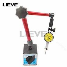 Indicador de discagem quente + grande suporte magnético universal base 0.8mm dial/10mm comparador do teste do seletor para a calibração do equipamento