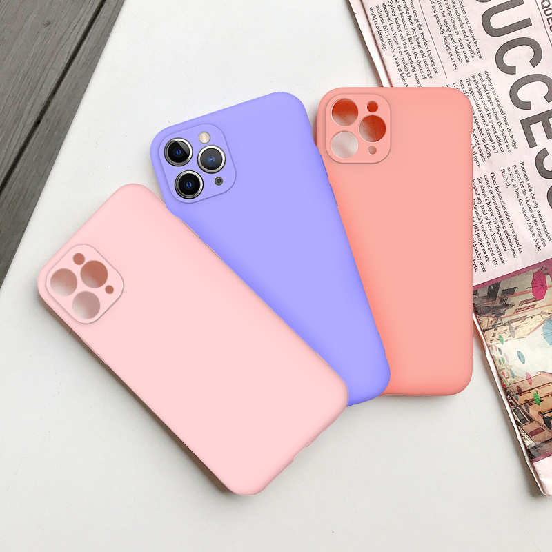 Cute Candy Color Matte Frosted Phone Case για iPhone 11 Pro Max 7 - Ανταλλακτικά και αξεσουάρ κινητών τηλεφώνων - Φωτογραφία 6