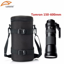 13x29.5cm מצלמה עדשת פאוץ Case תיק עבור Tamron 150 600mm Sigma 150 600, 150 500 & N 200 500mm עדשות