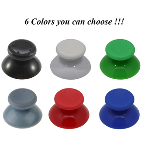 Image 2 - IVYUEEN 6 adet siyah gri 3D Analog sopa Joystick için 360 denetleyici Thumbstick kapaklar X box 360 için Analogical onarım parçaları