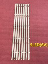 ใหม่ 80 ชิ้น/ล็อต 5LED หรือ 6LED LED Backlight สำหรับ 55PUF6092 K550WDC1 A2 4708 K550WD A2113N01 471R1P79 4708 K55WDC A1113N01