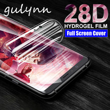 Screen Protector Protective Film On For Samsung Galaxy S10 S9 Plus Hydrogel Film M30S A10 A30 A40 A50 A70 S 2019 Cover Not Glass(China)