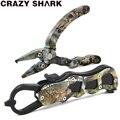 Набор рыболовных плоскогубцев Crazy Shark  мини-плоскогубцы из алюминиевого сплава  разделенные кольцевые резцы  рыболовная снасть для удаления...