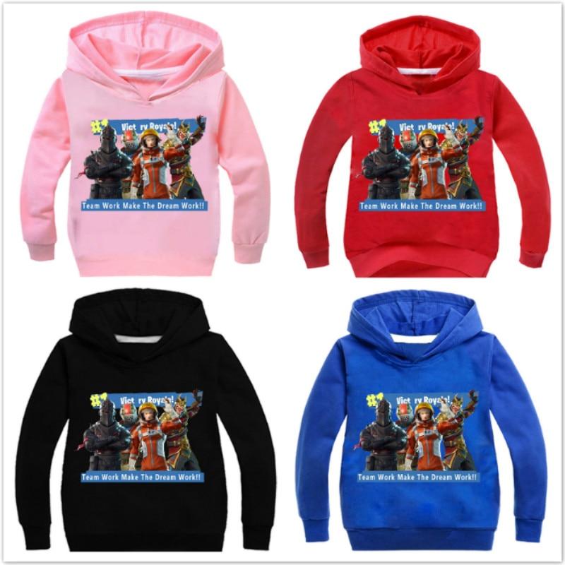 Hot Game Dab 3D Print Hoodies Sweatshirts Baby Boys Clothes Cartoon Hoody Casual Long Sleeve T-shrits Girls Fortnight Pullover