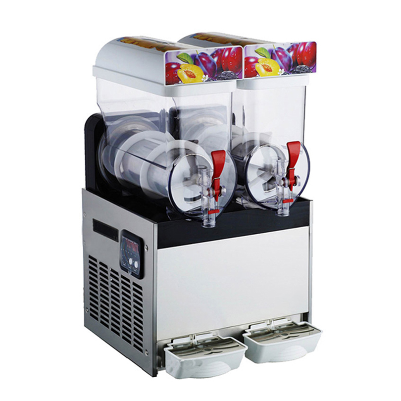 Commercial Slush Machine 220V Ice Drink Blender 45L Large Capacity Smoothie Maker
