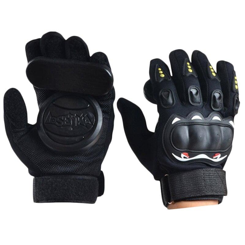 Downhill Skateboard Gloves Longboard Slide Gloves With Slider Skate Accessories For Long Board