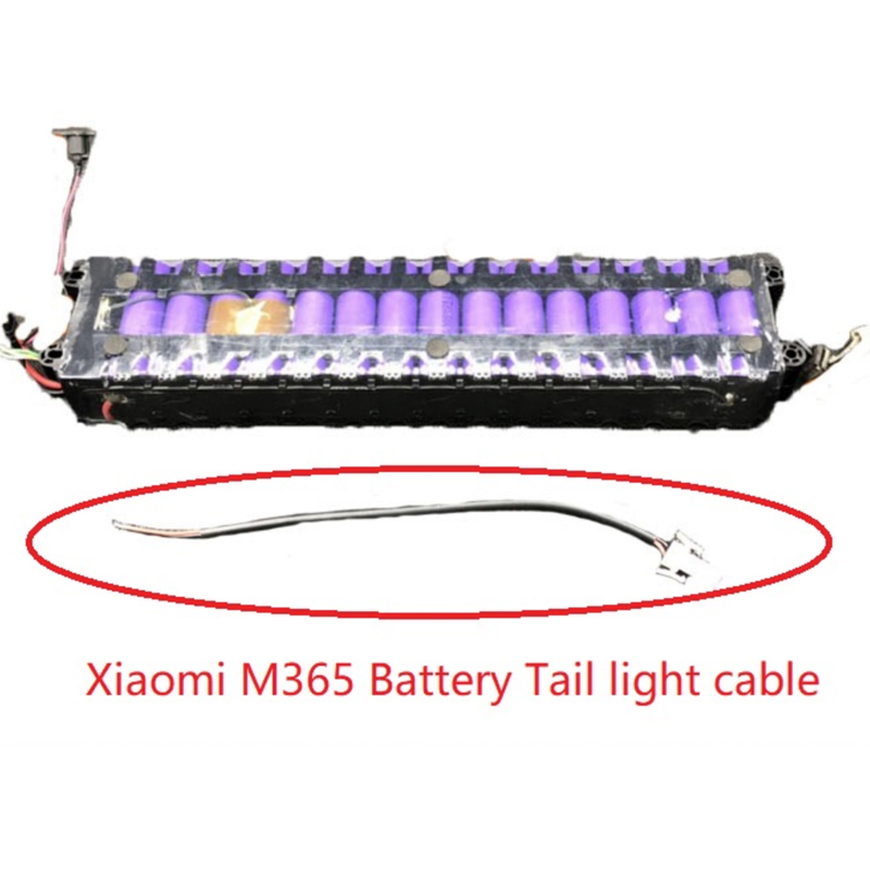 for <font><b>Xiaomi</b></font> <font><b>Mijia</b></font> <font><b>M365</b></font> Battery Tail Light Cable Line For <font><b>Xiaomi</b></font> <font><b>M365</b></font> & <font><b>Pro</b></font> <font><b>Electric</b></font> <font><b>Scooter</b></font> Circuit Board LED TailLight Cable image