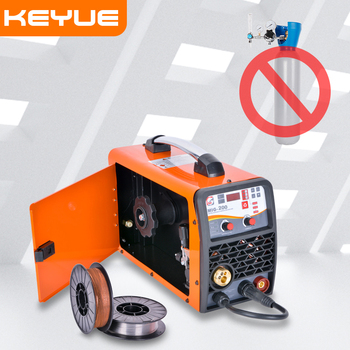 MIG welding machine MIG-250 Stainless Steel Iron Steel Welder 5KG 220V  DC Gas No Gas MIG MMA LIFT-TIG 3 in 1 Welder EU plug nb mig 270315 gas shielded welder power supply plate carbon dioxide welding machine circuit board