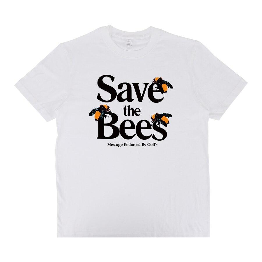 Tyler The Creator SAVE THE BEES Golf Wang Hip Hop Rapper OFWGKTA Skate T-shirt Cotton Men T Shirt New TEE TSHIRT Womens