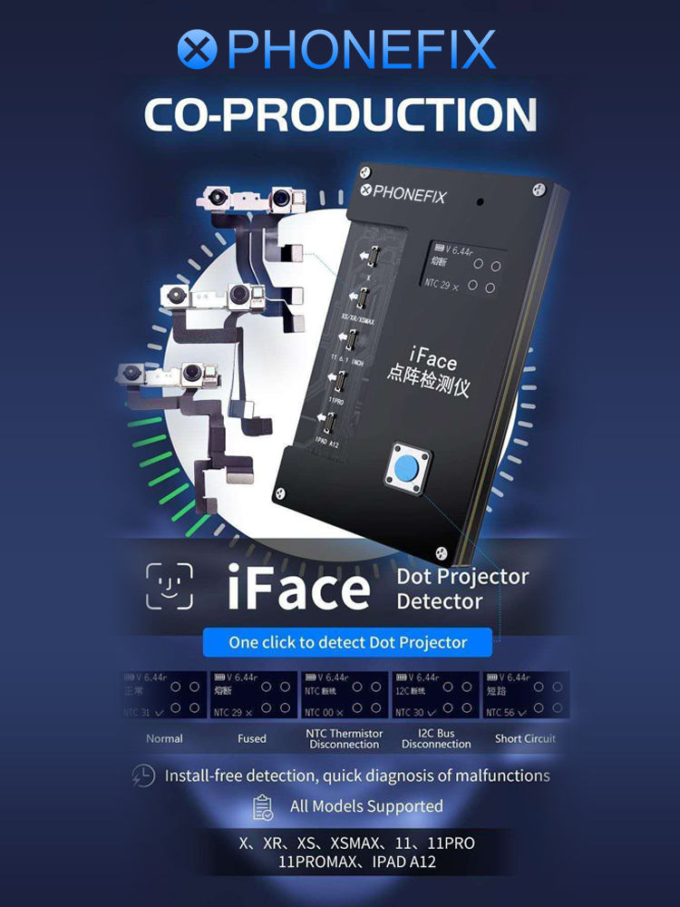 qianli-iface-matrix-tester-iface-dot-projector-for-iphone-x-11-pro-ipad-a12-face-id-testing-repair-quick-diagnosis-malfunctions