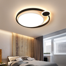 Modern Round  Ceiling Lamp Lighting Fixture With Remote Controller Bedroom/Study Room Ceiling Light  LED Ceiling  Lights