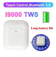 I9000 tws auricular P-op up 8D bajo carga inalámbrica auriculares Bluetooth 5,0 auriculares PK i1000 i2000 i30 i500 i9999 i80 i20 i10 tws