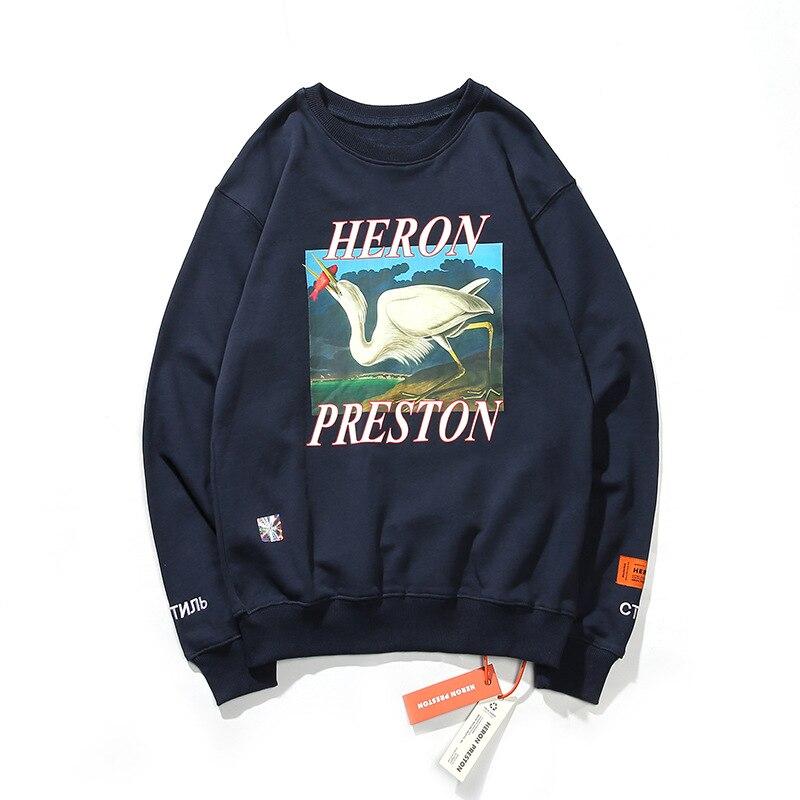 Heron Preston Crane Print Men and Women Jacket 1
