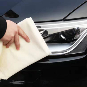 Image 2 - 60x90CM Chamois Leather Car Washing Towels Super Absorbent Car Home Glass Kitchen Drying Cleaning Cloth Quick Dry car wash towel