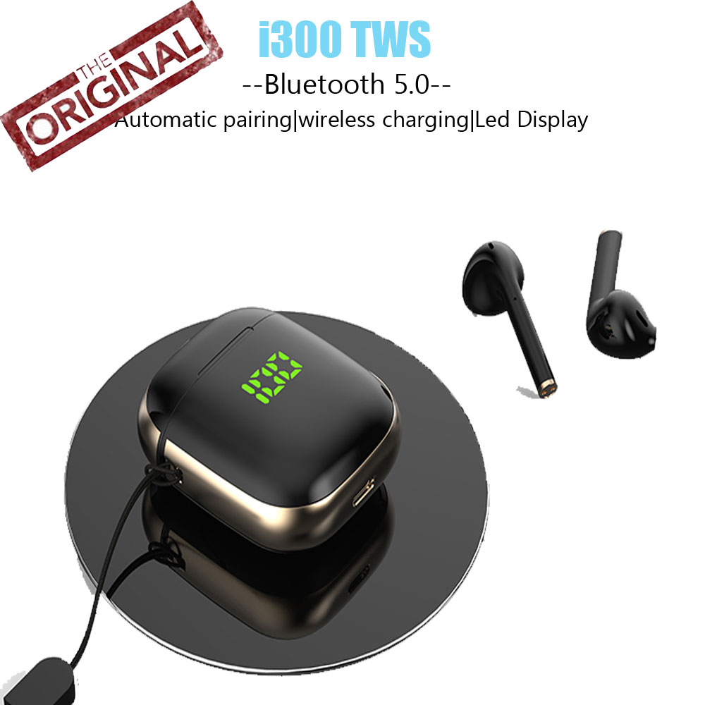 Original i100 i12 i14 TWS Touch Control Earphone LED Bluetooth Wireless Headphone Gaming Headset Sport HiFI Stereo Earphones