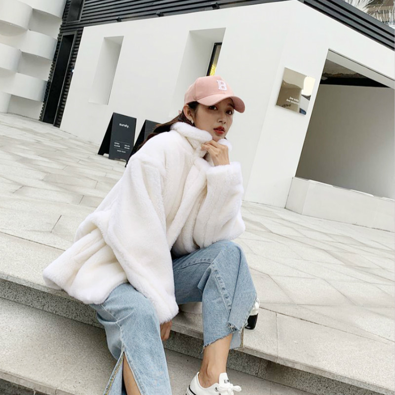 Real Fur Coat Women Sheep Shearling Winter Coat Women Clothes 2020 Korean 100% Wool Jacket Manteau Femme BDY19738 YY1112
