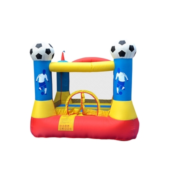 Kids Play Playground Trampoline Backyard Jump Bouncing Mini Soccer Inflatable Bouncy Small Bounce House Castle for Child customized small jumping castle mini inflatable trampoline for kids game