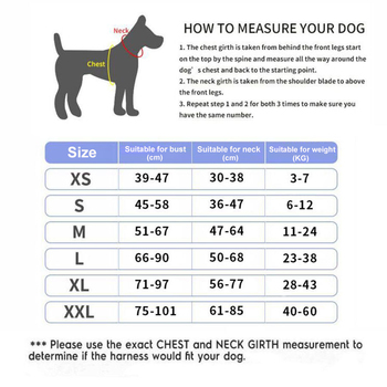 Dog Harness NO PULL Reflective Breathable Adjustable Pet Harness Vest   4