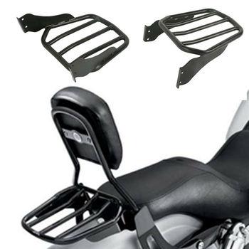 Motorcycle Tapered Sport Luggage Rack For Harley Softal Custom FXSTC 07-10 Fatboy 07-17 17 Lo FLSTFB