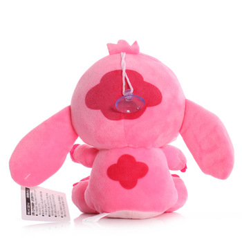 Disney Cartoon Blue Pink Stitch Plush Dolls Anime Toys Lilo and Stitch 20CM Stich Plush Stuffed Toys Christmas Gifts for Kids 4