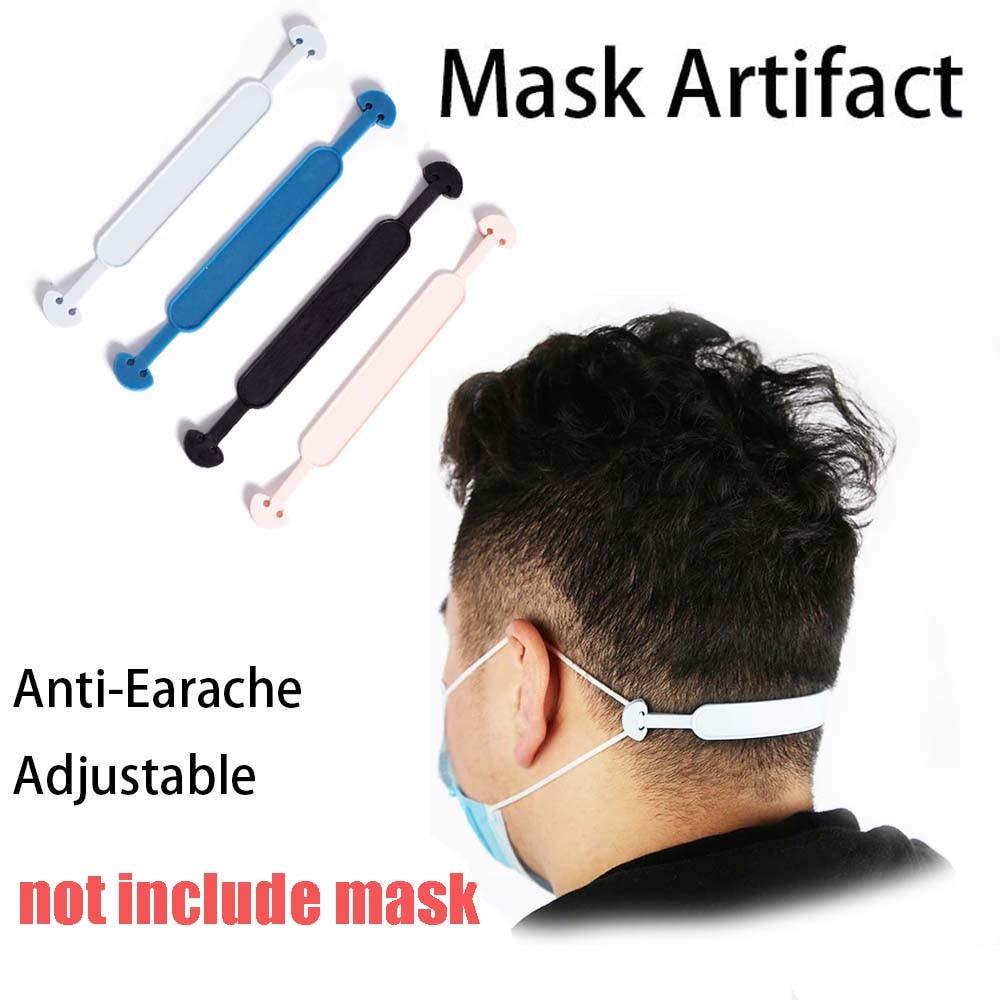 1 Pcs Preventing Earache Masks Lanyard Extension Buckle Ear Protectors Adjustable Non-slip Drop Ear Hanging Mask Hooks